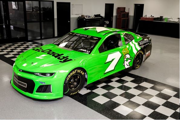 DANICA UNVEILS NO. 7 GODADDY CHEVY ON OFFICIAL WEBSITE ...