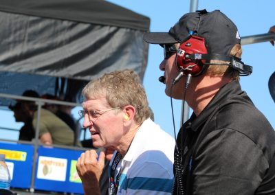 Bill Elliott Joined Tommy Baldwin on our Pit Box!